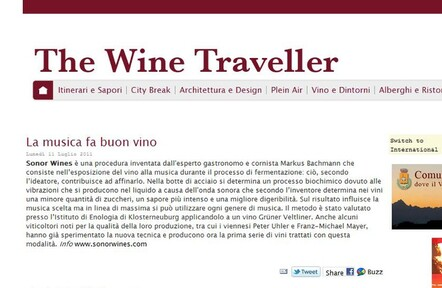Italy The Wine Traveller